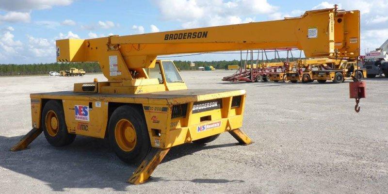 Broderson crane
